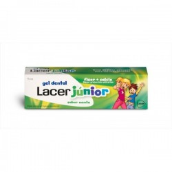 LACER JUNIOR GEL DENTIFRICO MENTA 75 ML