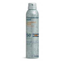 Isdín Spray Transparente Wet Skin SPF 50 200ml