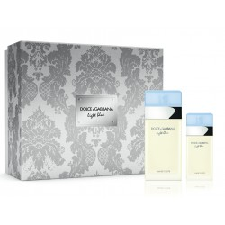 D&G Cofre Lux.Light Blue edt 100v+edt 25v