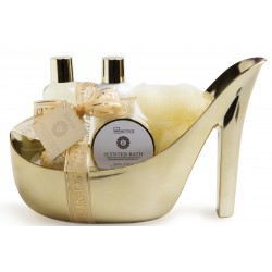 IDC Inst.Scented Bath Gold Shoe 5 Prod.