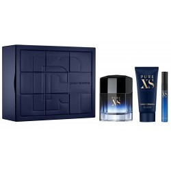 P.Rabanne Cofre Pure Xs EDT 100ml+gel 100ml+vapo 10ml