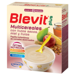 Blevit Plus miel frutos secos fruta 600g