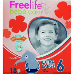 Freelife Pañal T6 18uds