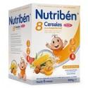Nutribén Papilla 8 Cereales Miel y Frutos Secos 600gr
