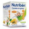 Nutribén Papillas Cereales Sin Gluten 600gr