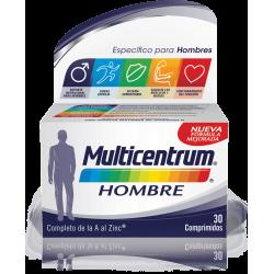 Multicentrum Multivitaminas Hombre 30 comp