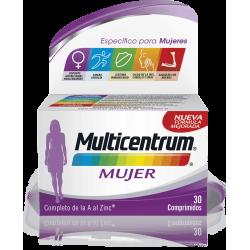 Multicentrum Multivitaminas Mujer 30 comp