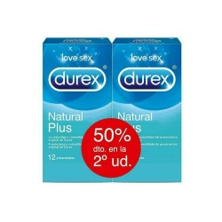 Durex Natural Plus Duplo 2x12uds