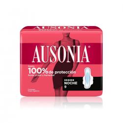 Ausonia Compresa AD Alas Noche 9uds