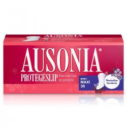 Ausonia Protege Slip Maxi 30uds