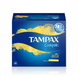 Tampax Compak Regular 22uds