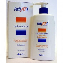 LETI AT4 LECHE CORPORAL 250 ML
